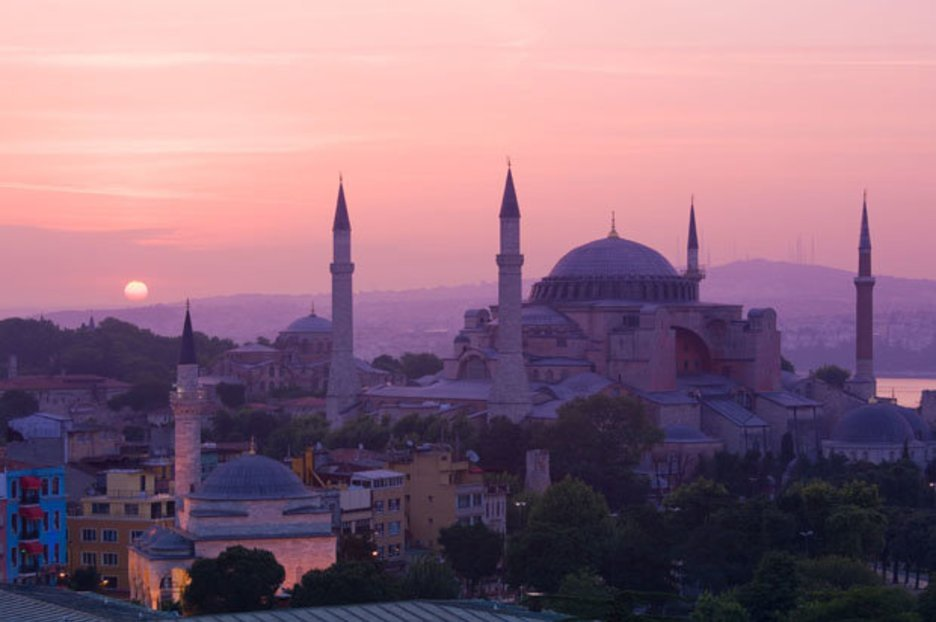 Sophia so good: A pleasure passing hours and minarets in Istanbul's historic shrine