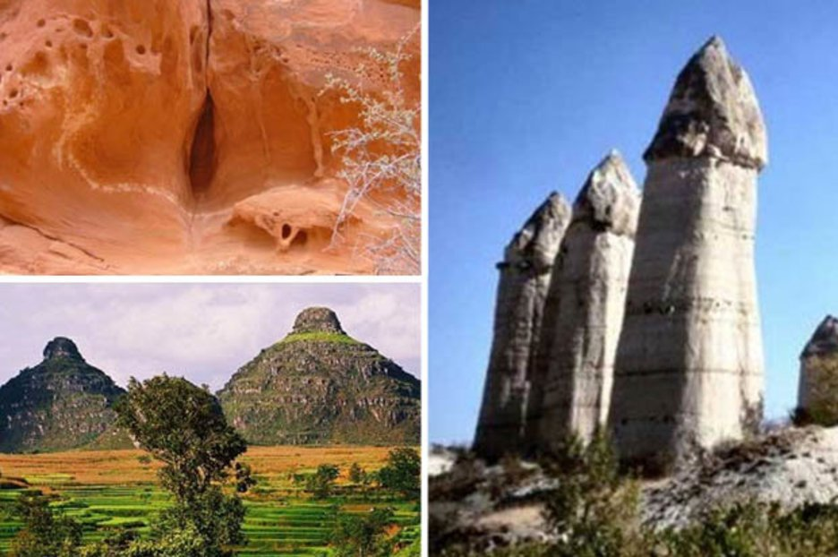 How dirty is YOUR mind? 10 iconic temples, caves and mountains that look VERY rude