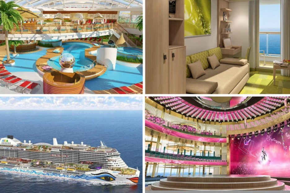 Take a look around Carnival's BIGGEST cruise ship: It has its own spa and waterpark