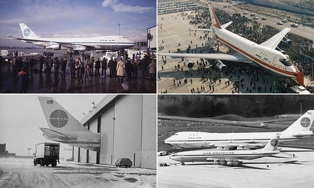 Fascinating pictures of the Boeing 747 on its 50th anniversary