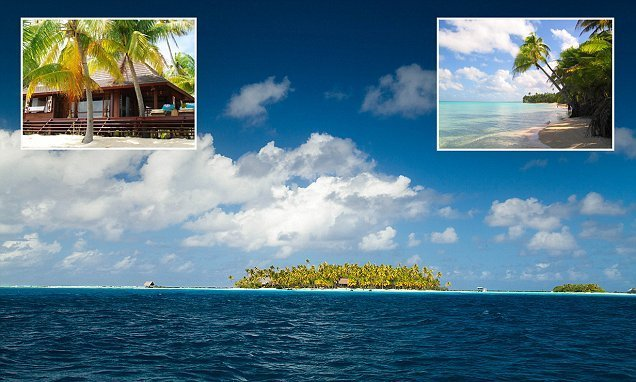 The incredible island in the South Pacific that's for sale for £2.5m