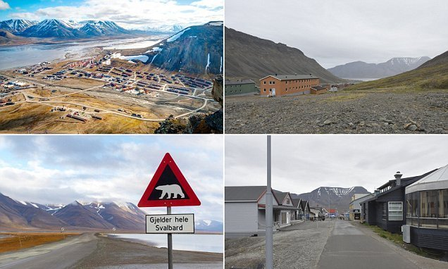 A stroll around one of the most northerly cities, Longyearbyen
