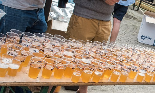 Beer Lovers' Marathon treats runners to 15 different beers as they go