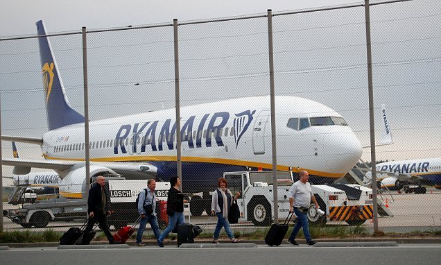 Ryanair cabin crew in 5 countries to stage strike action on Sept 28