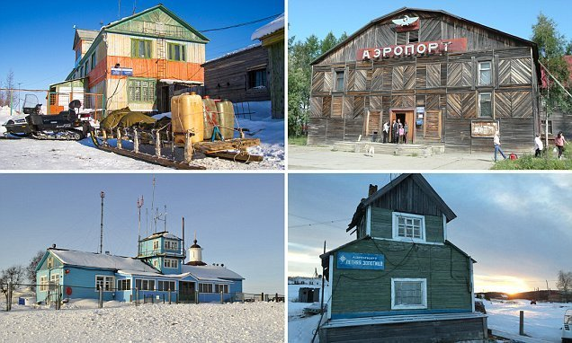 The amazing wooden airports dotted around the remotest parts of Russia