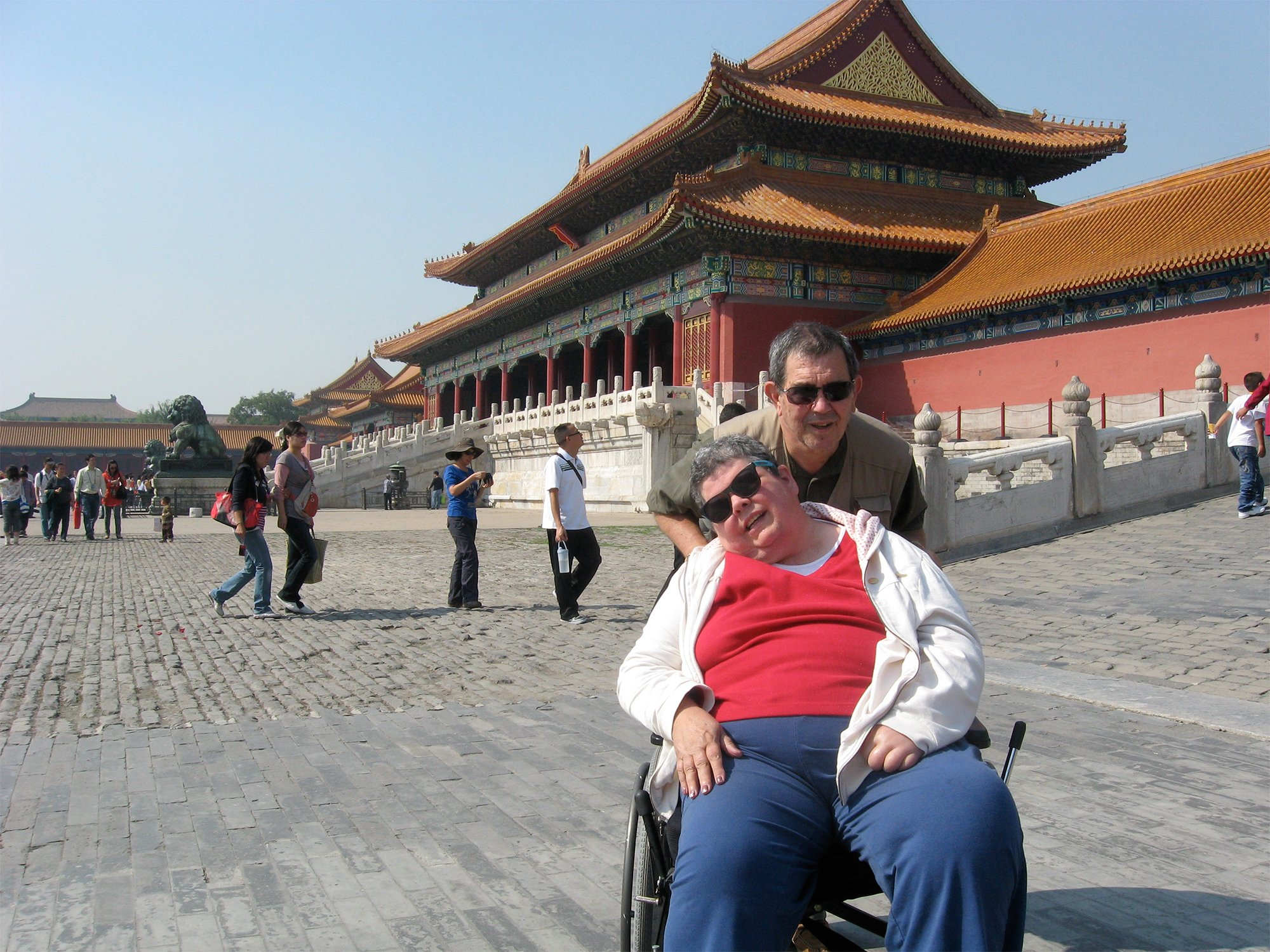 Man Told to Put Wife in Nursing Home After Partial Paralysis Takes Her Around The World Instead