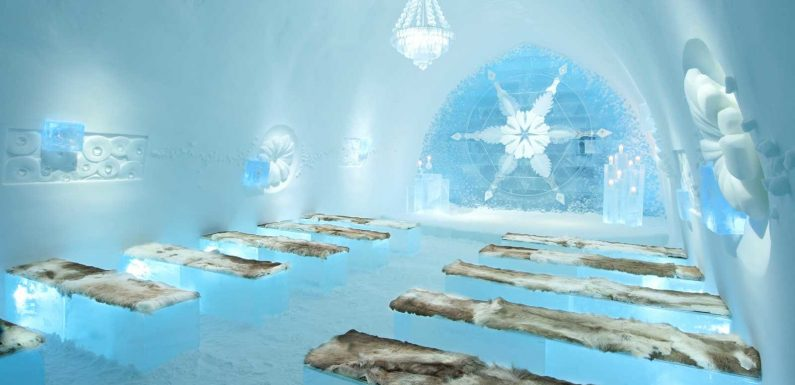 Sweden's Ice Hotel Is the Ultimate Winter Wedding Venue