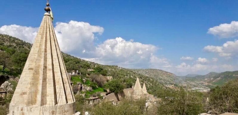 The holy village Yazidis are coming back to
