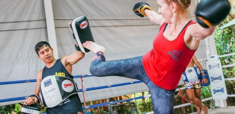 Brits are flocking to Phuket to learn Muay Thai
