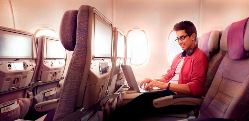 Emirates sets new record with over 1 million Wi-Fi connections ·