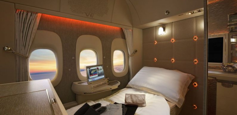 Emirates to debut its new fully enclosed First Class Private Suite ·