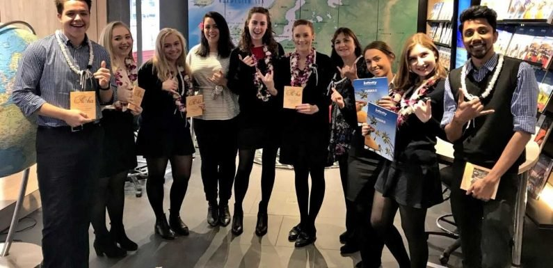 Hawaiian Airlines drops in on industry to celebrate 'the Month of Lei' ·