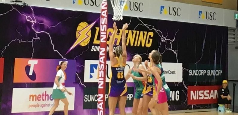 Lightning strikes twice for Sunshine Coast ·
