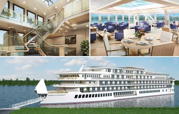 American Harmony Riverboat Launched Weeks Ahead of Schedule