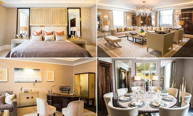 Penthouse in a luxury London hotel goes up for sale for £11.25million