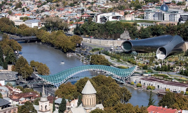 Vanity projects and kamikaze loggias: Tbilisi's architectural disaster