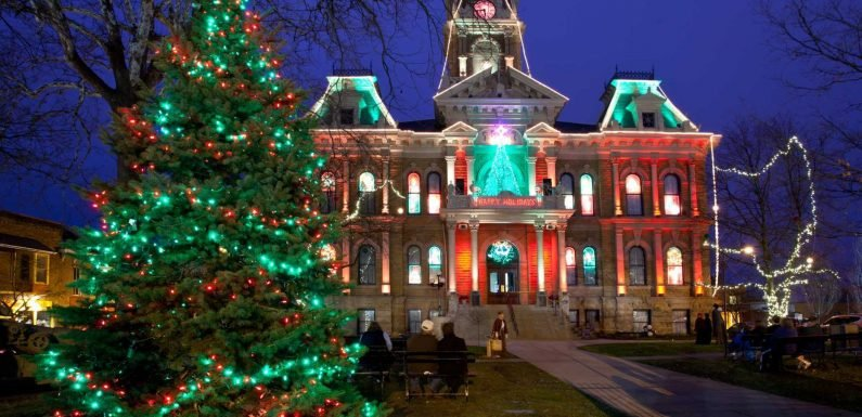 America's 50 most charming small towns for the holidays
