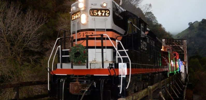 All Aboard! The Best Christmas Train Rides in America