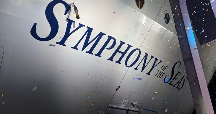 Royal Caribbean Holds Naming Ceremony for Symphony of the Seas