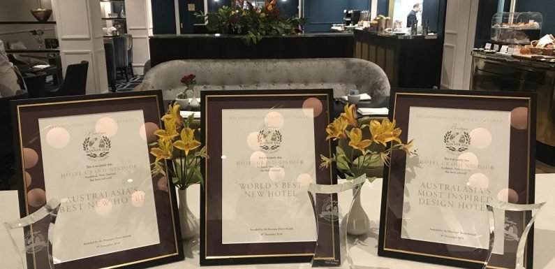 Hotel Grand Windsor crowned world's best new hotel ·
