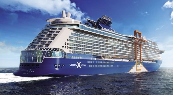 Celebrity Cruises takes delivery of Celebrity Edge in France