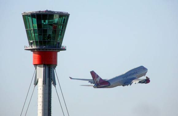 Record passenger numbers for London airports