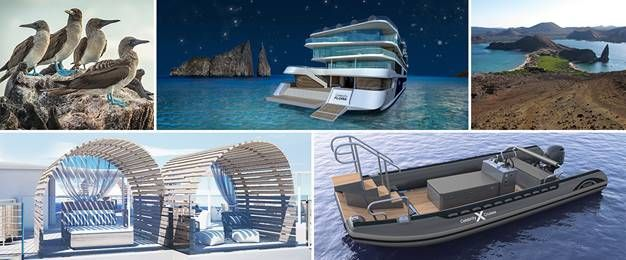 Rooftop Glamping at Sea in the Galapagos ·