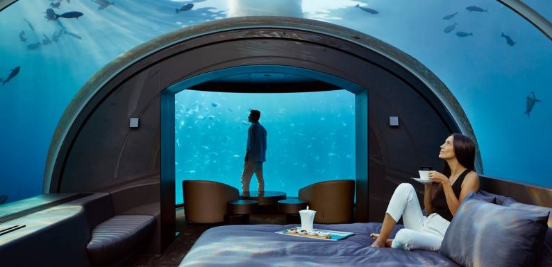 Staying at the Muraka: The $90k underwater hotel designed by a Kiwi