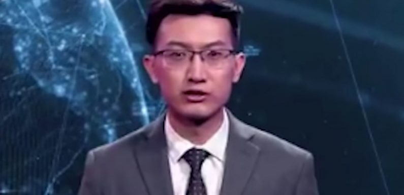China Has Unveiled the World's First Virtual Reality News Anchor and It's Sort of Horrifying (Video)