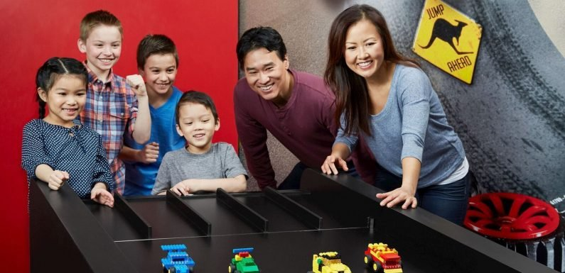 Take part in the ultimate chase at LEGOLAND Discovery Centre ·