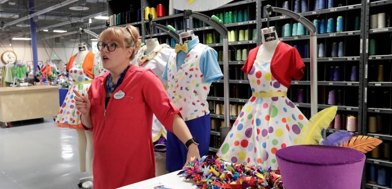 A rare peek at how Walt Disney World Resort shows are made