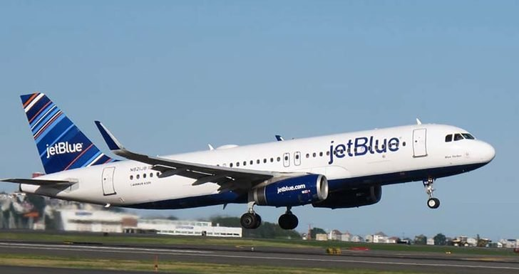 JetBlue Flight Makes Emergency Landing Due to Fumes Detected in Cockpit