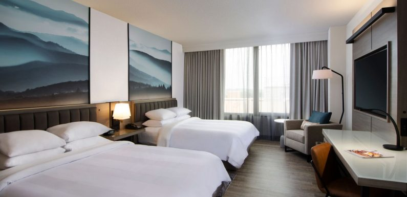 Phase I improvements now complete at Winston-Salem Marriot ·