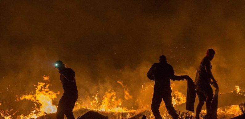 A Popular Cape Town Destination Was Engulfed In Flames Over the Weekend