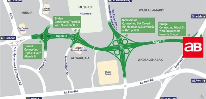 Key Dubai highway project set for H1 2019 completion