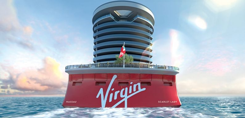 Virgin has opened bookings for new cruise ship Scarlet Lady