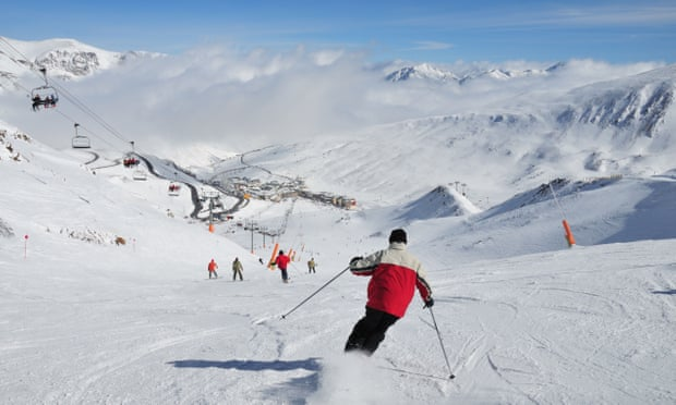 A father-and-son ski trip to Andorra