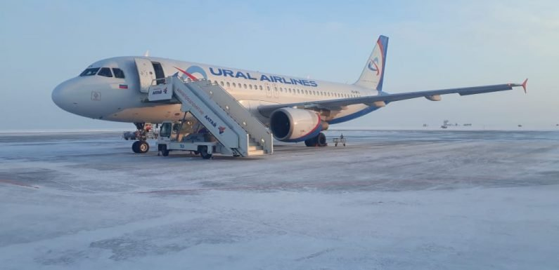 Six passengers injured as aircraft stairs collapse in Siberia