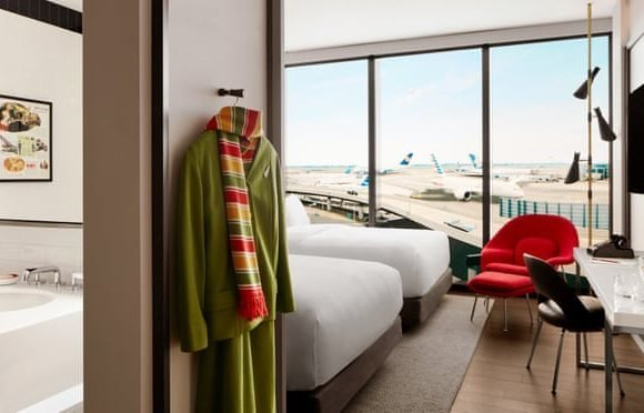 TWA Hotel at New York's JFK airport to open for bookings