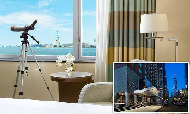 The swanky New York hotel that offers stunning views of Lady Liberty