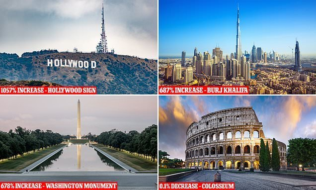 The most expensive and cheapest landmarks to live near revealed