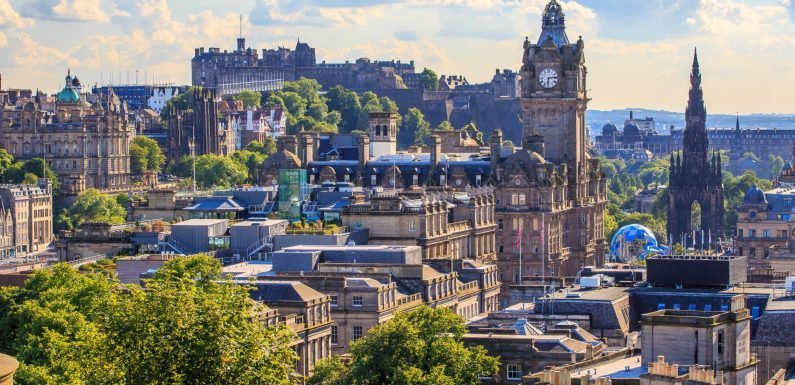 If you want to visit Edinburgh, it'll cost you £2 a day