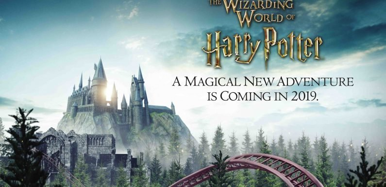 Universal Orlando reveals details about Hagrid roller coaster headed to Harry Potter world