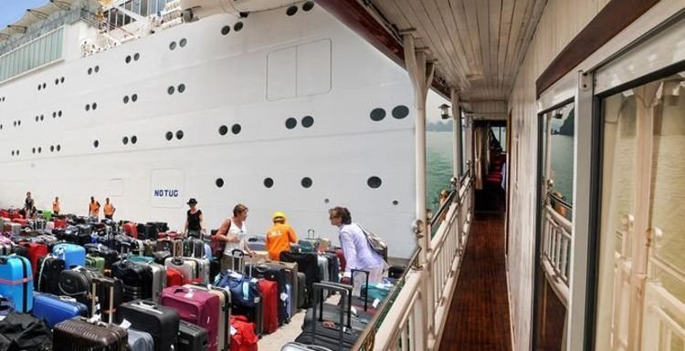 Cruise secrets: Passenger brings VERY strange luggage on each ship – 'her room is unique'