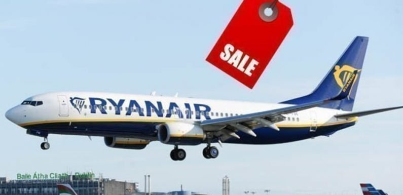 Ryanair kicks off early bird flight sale – here are the best travel bargains