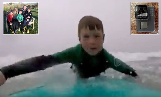 Family loses GoPro in the sea, but is reunited with it 10 MONTHS later