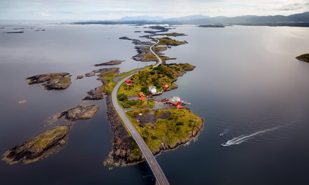 Fjord escort: a road trip to northern Norway