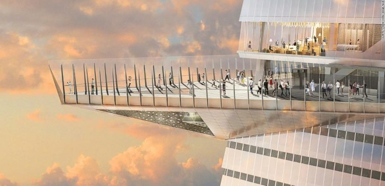 New York's Edge will be tallest outdoor observation deck in Western Hemisphere