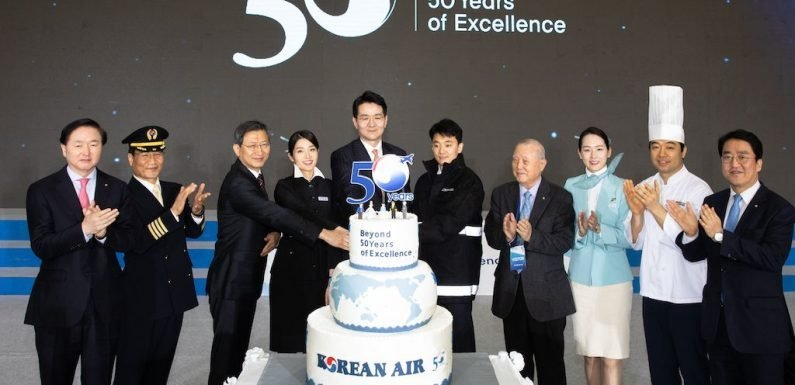 Korean Air celebrates 50 years ·