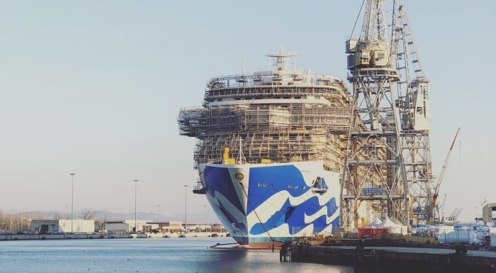 Princess Cruises completes Fincantieri order for two new ships